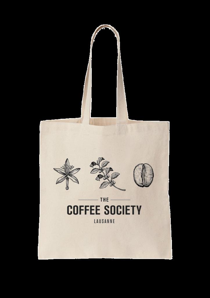 The Coffee Society - Tote bag bio